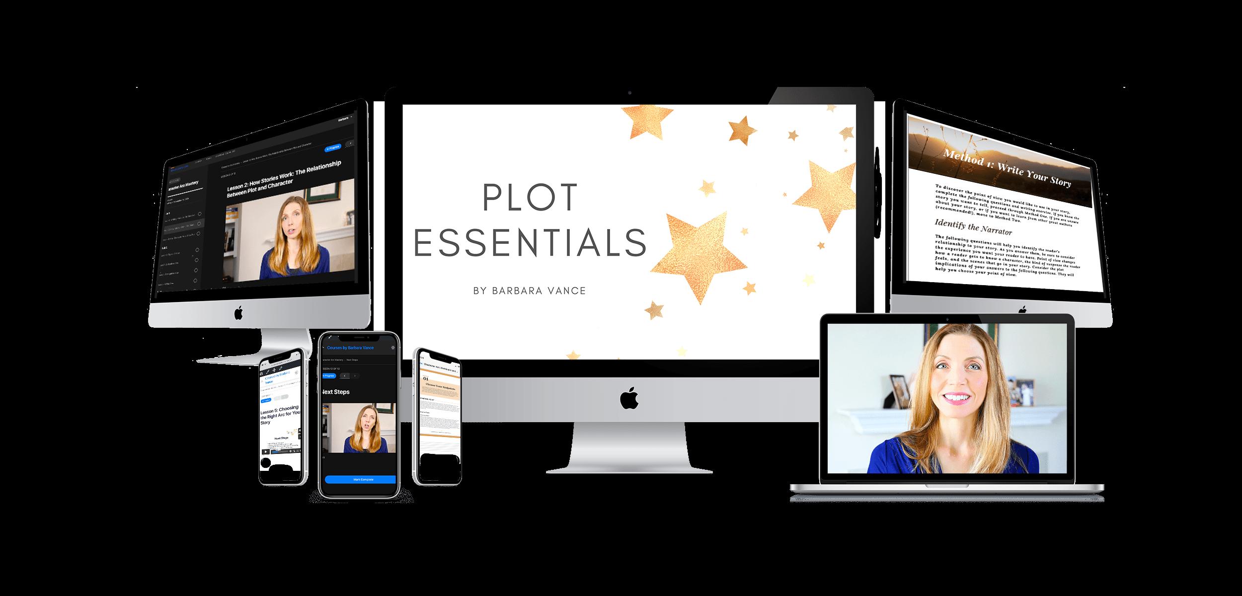 plot essentials sales page banner