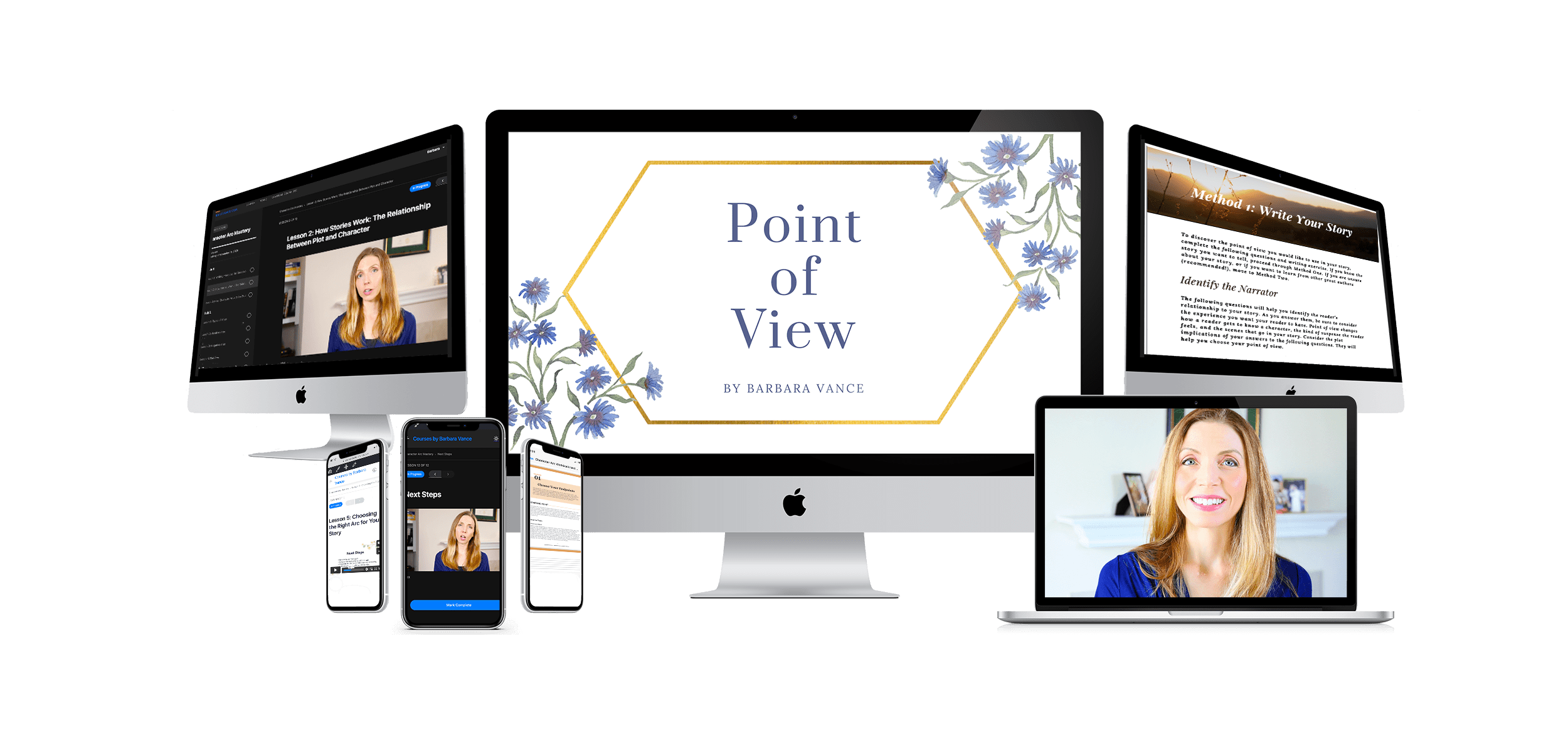 point of view sales page banner