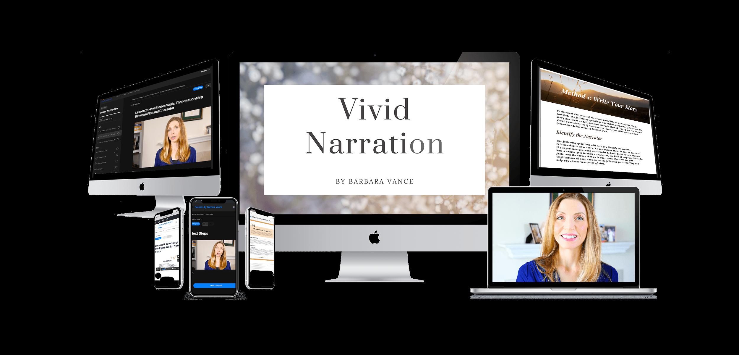 Vivid Narration Website Banner